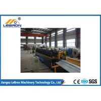 8 Tons C Z Purlin Roll Forming Machine / Steel C Channel Bending Machine PLC System Manufactures