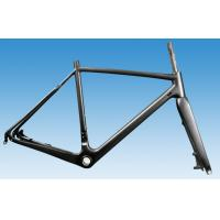 1100-1180g CX Carbon Bicycle Frame , Single Speed Cyclocross Frame HT-FM286 Manufactures