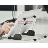 For apple iPad stand Aluminum foldable universal tablet Stand,Holder for apple ipad stand for samsun tablet,tablet mount Manufactures