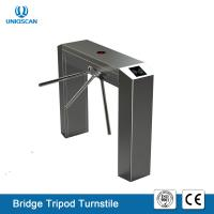 High Sensitivity Pedestrian Tripod Turnstile Gate UT550-C Access System Support Fire Alarm Manufactures