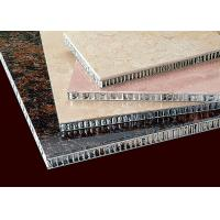 China Composite   Aluminum Honeycomb Panels Exterior Wall Decoration Hygienic on sale