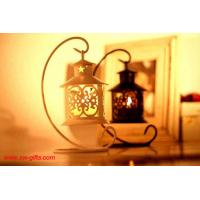 China Iron Moroccan Style Candlestick Candleholder Candle Tea Light Holder Decor Gifts on sale