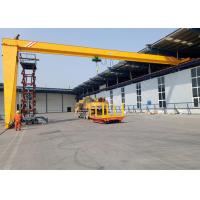 China Electric Hoist Traveling Type Semi Gantry Crane System BMH 5 - 20T For Workshop on sale