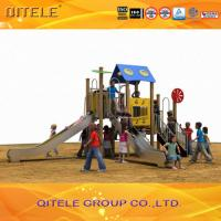 Commercial Outdoor Playground , Outdoor Sports Equipment For Kids Manufactures