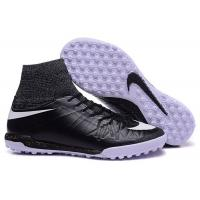 Black Soccer Shoes Jul Nike HypervenomX Proximo Street TF Men's Turf Football Cleats Manufactures