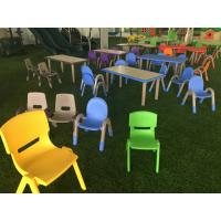 Quality Table Chair Set Toddler , Plastic Chairs And Tables For Kids for sale