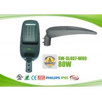 China IP65 Waterproof LED Roadway Lighting Fixtures 80w With Photocell on sale