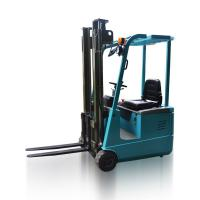 China AC 1.0 -1.5 Ton Three Wheel Electric Forklift 24V Battery Powered Forklift Truck on sale