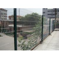 White Color Triangle Bending Wire Mesh For Garden Fence and Courtyard Manufactures