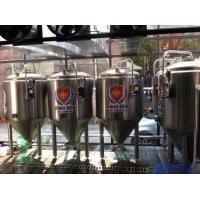 Craft Beer Home Microbrewery Equipment Stainless Steel 304 / 316 Material Manufactures