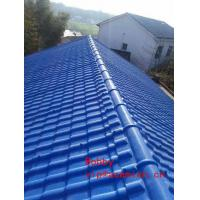 China Replace Clay Roof Tile Forming Machine / PVC Roofing sheet Roll Forming Line on sale