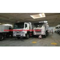 White  371Hp Tipper Heavy Duty Dump Truck For Bad Road Condition Overloading Manufactures