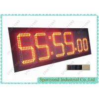 Count Down And Count Up Clock Board With Led Electronic Digital Timing Display Manufactures