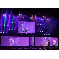Quality P6mm SMD 3-in-1 Full Color Front Maintenance Large LED Media Wall LED Display for sale
