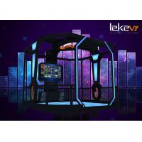 Buy cheap 2018 Latest Leke VR 9d VR Shooting Walking Roaming Multiplayer Game Machine for VR Park from wholesalers