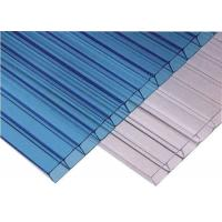 Car Parking Roof Twin Wall Hollow Sheet Alveolar Polycarbonate Sheet Manufactures