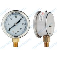 Stainless Hydraulic Pressure Gauge Manufactures