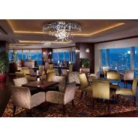 Highly Endurable Restaurant Booth Seating , High Standard Modern Restaurant Tables Manufactures