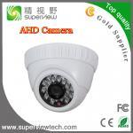 "1/4"" CMOS 720P 1.0 Megapixel AHD Camera with 23pcs IR LED,3.6mm board lens, IR Plastic Dome camera Manufactures"