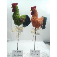 Handmade cock,Size:h:39cm,High quality with competitive price,Easter Ornaments and gifts Manufactures