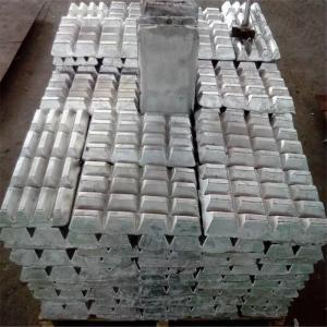 China Aluminium master alloy , Al Zr alloy Alzr Promote deformation on sale