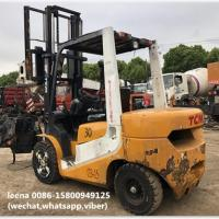 used 3ton tcm forklift FD30T7 originally made in japan in 2010  low working hrs  2000-4000 hrs Manufactures