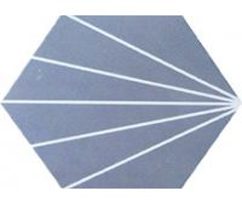 China 3D Look Hexagon Floor Tile , Porcelain Hex Tile For Hotels And Restaurants on sale