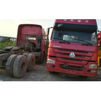 China Diesel Engine Used Tractor Trucks , Howo Tractor Truck6840x2496x3850mm on sale