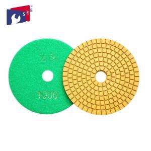 Rigid Concrete Polishing Pads Dry / Wet Polishing With High Shine 80 - 220mm