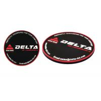 Round Shaped Promotional Gift Giveaways Rubber Coaster Unbreakable Featuring Manufactures