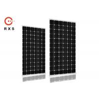 China 350W Mono Black Solar Panels , 24V Commercial Solar Panels With Low LID on sale