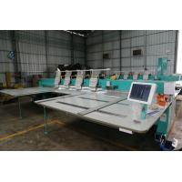 China Multi Head  Computerized Embroidery Machine / Flat Embroidery Equipment on sale