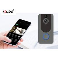 Two Way Talking Doorbell Security Camera System , Digital Doorbell Camera HD 720P Manufactures