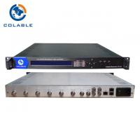 8 Channel ASI To IP Output IP Video Multiplexer DVB Headend TS Multiplexer Scrambler Manufactures