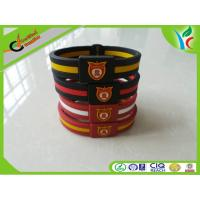 Promotion Gifts Silicone Balance Bracelet Double Color M Medal Manufactures