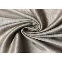 130D 100% Polyester Faux Suede Fabric Comfortable Handfeel For Pet Supplies And Sofa Manufactures