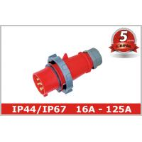 Buy cheap 3 Phase Pin And Sleeve Plug from wholesalers
