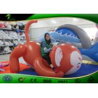 China 2m Long Lovely Inflatable Monkey With Tummy , PVC Mascot Helium Advertising Balloons on sale