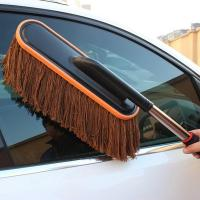 Cotton Wax Car Wash Wax Brush for Cleaning the Car Duster Brush Manufactures