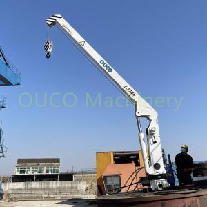 Hydraulic Offshore Standard 15m/Min Marine Davit Crane Manufactures