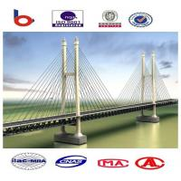 Suspension Deck Cable Stay Bridges Permanent With Straight Cables Manufactures