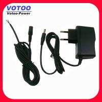China Male / Female Dc Cable Ac Dc Power Adapter 12volt 500ma on sale