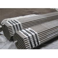 Round Seamless Stainless Steel Tubing / Copper Coated 316 Stainless Steel Pipe Manufactures