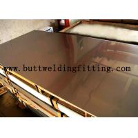Hot / Cold Dipped Stainless Steel Plate 1000mm Wide With Alloy N04400 / 400 N00625 / 625 Manufactures