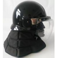 Korea  Model  Anti Riot Tactical Helmet with long neck protector Manufactures