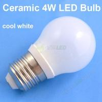 4W B22 Base Cool White Ceramic+Glass LED Bulb,led bulb light b22 Manufactures