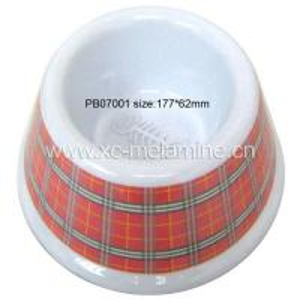 Melamine Pet Bowl (PB07001) Manufactures