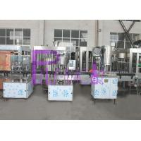 Linear Type Bottle Water Filling Machine 2000BHP Non Gas Small Bottle Manufactures