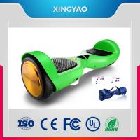CE Two Wheeled Self Balancing Electric Skateboard With Remote Manufactures
