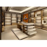 Handbag Showroom Display Cases White Wooden Plus Veneer Stainless Steel Material Manufactures